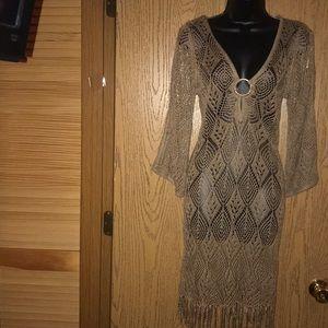 NWT Arden B Crochet dress